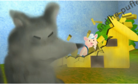 Three Little Pigs Animated Story